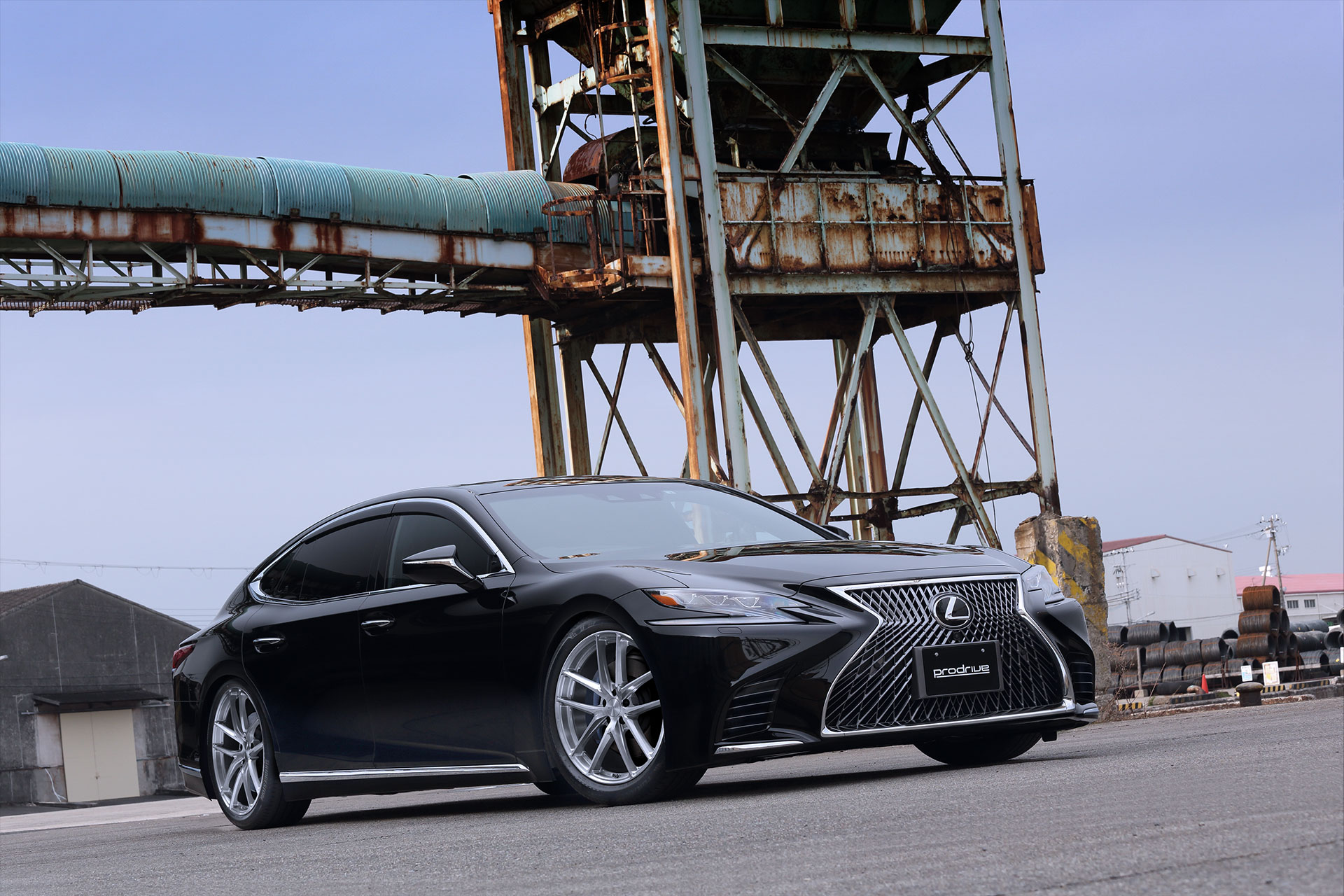 "NEW MODEL ""Prodirve GC-05R"" ON LEXUS LS."